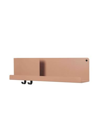 Folded shelf Medium Burnt Orange Muuto