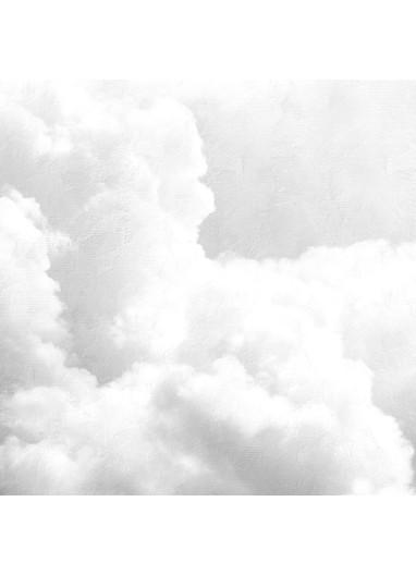 Mural Papel Pintado Clouds Gris Coordonné