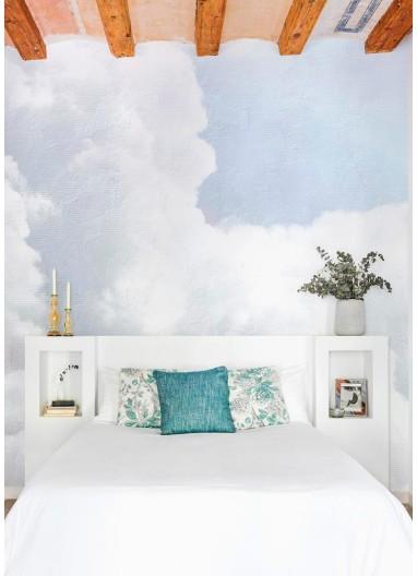 Mural Papel Pintado Clouds Azul claro Coordonné