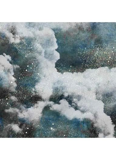 Mural Papel Pintado Clouds Azul Coordonné