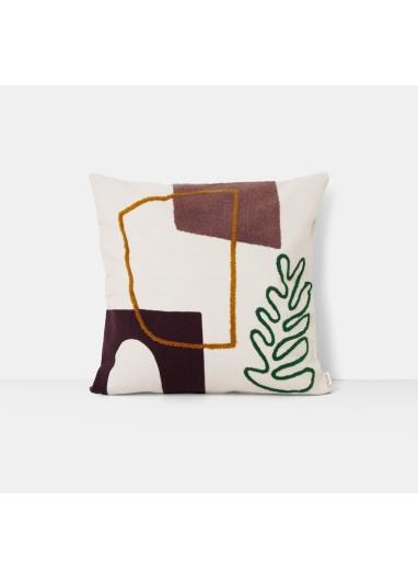 Mirage Cushion Leaf 50x50 Ferm Living