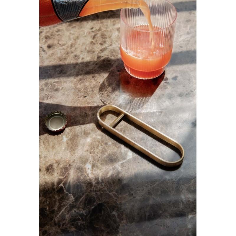 Fein Bottle Opener Brass Ferm Living