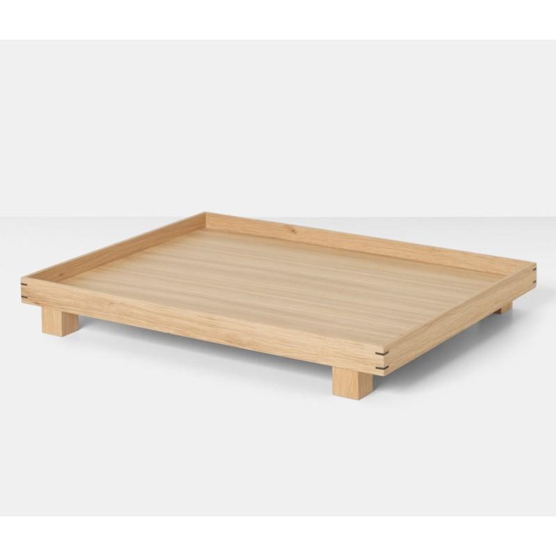 Bon Wooden Tray Large Oak Ferm Living