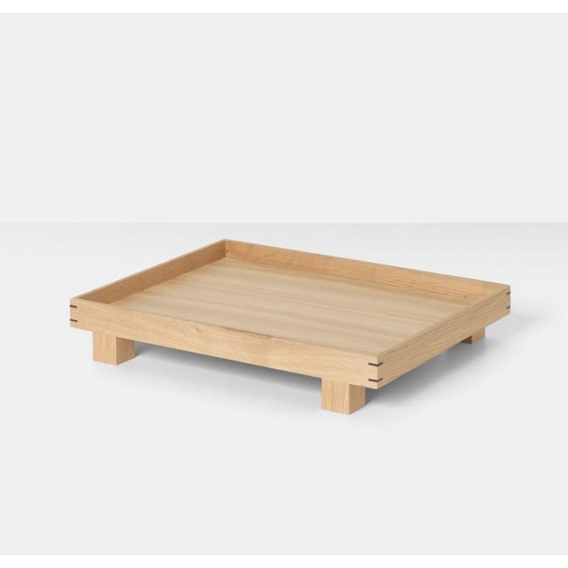 Bon Wooden Tray Small Oak Ferm Living