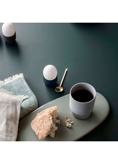 Set of Groove expresso cups Grey Ferm Living