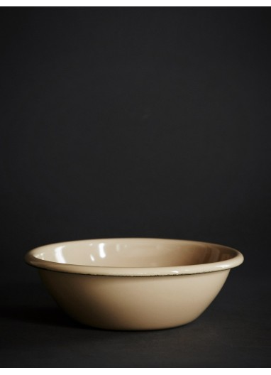 Enamel Bowl Brown HAY