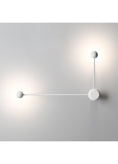 Pin Wall Lamp White Vibia