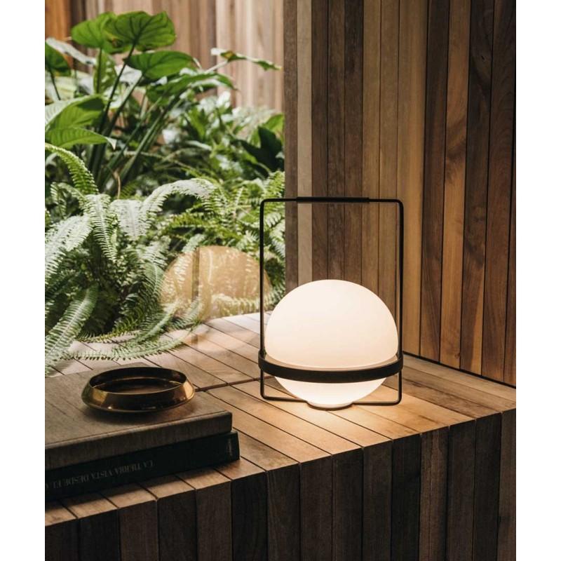 Lámpara de mesa Palma Grafito Vibia