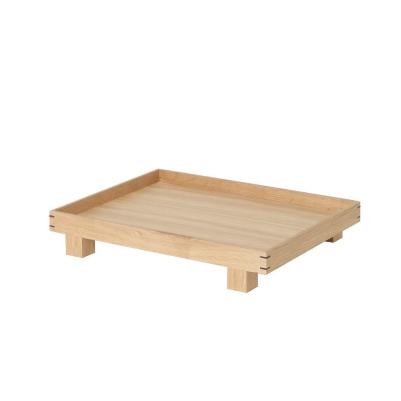 Bandeja de madera Bon S Roble Ferm Living