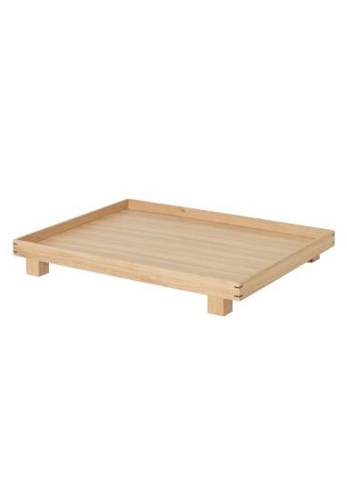 Bandeja de madera Bon L Roble Ferm Living