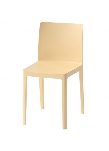 Elementaire Chair Light yellow HAY