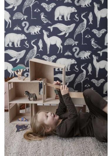 Papel pintado Animals Ferm Living