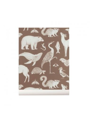 Animals wallpaper Ferm Living
