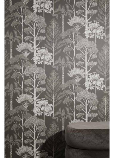 Papel pintado Trees Brown Grey Ferm Living