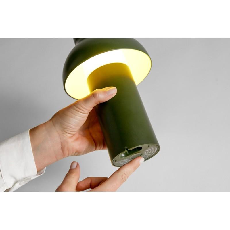 Lámpara de mesa PC Portable Negra HAY