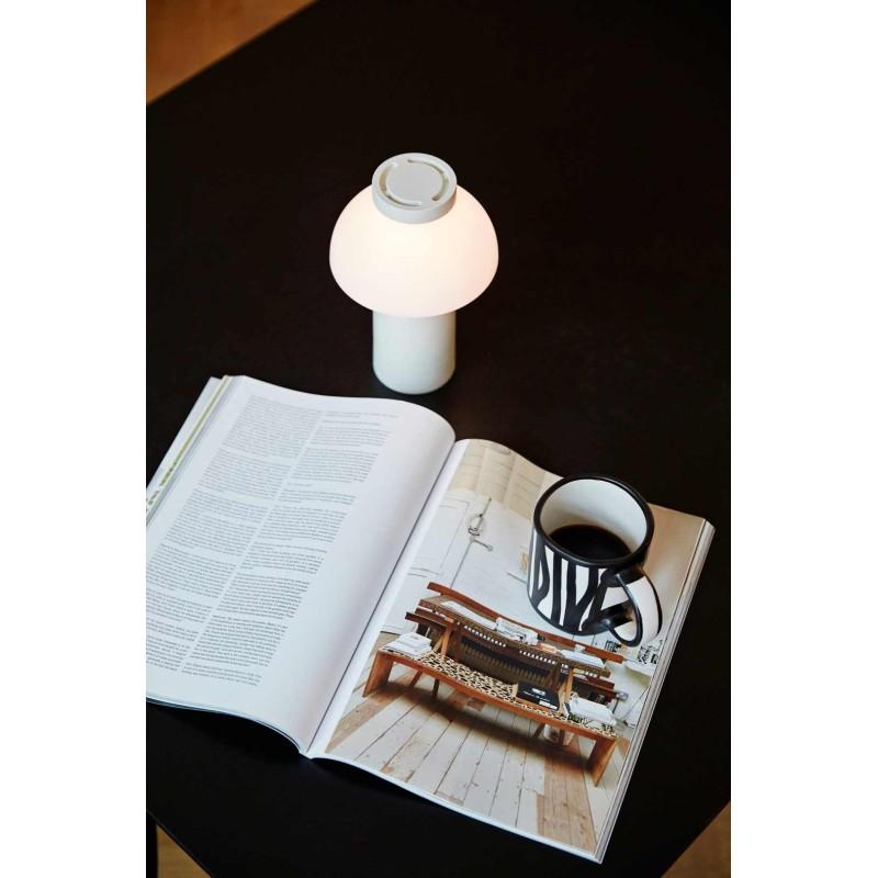 Lámpara de mesa PC Portable Blanca HAY