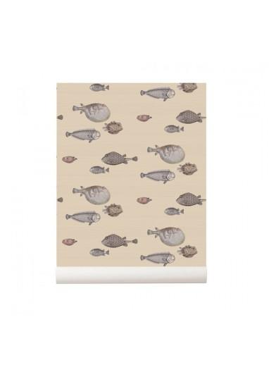 Papel pintado peces Acquario Natural Cole and Son