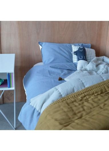 Funda Nórdica Mini Check Azul Camomile London