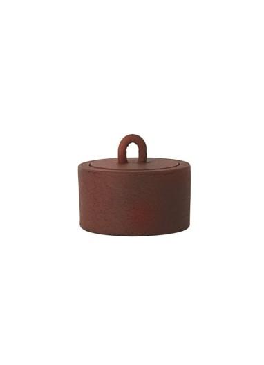 Buckle Jar Rust Ferm Living