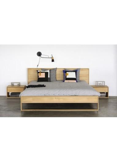 Nordic II Oak Bed - 140 by Ethnicraft