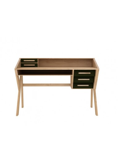 Origami Black Oak Desk - Ethnicraft
