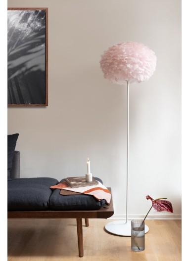 Lámpara Plumas Rosa de suelo