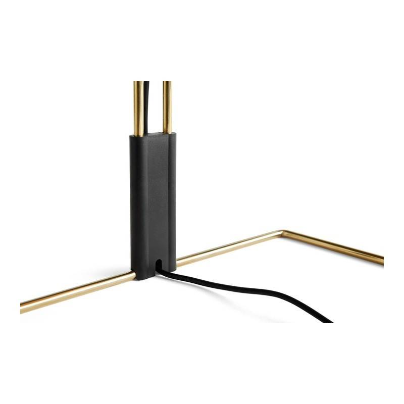 Lámpara de mesa Matin S verde Aluminio HAY