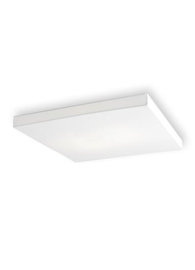 Lámpara aplique Block 80 plana de pared o techo de Olé by FM