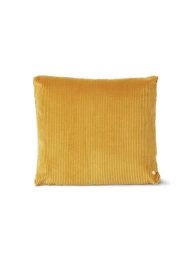 Cojin de pana Corduroy Golden Olive 45x45 Ferm Living