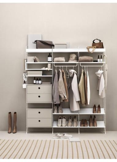 Dresser White/Beige String