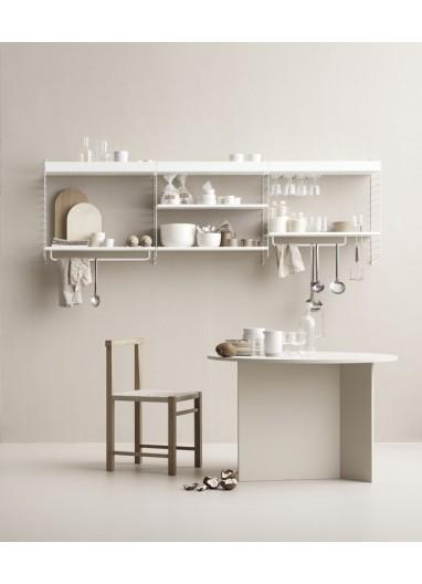 Kitchen Shelf White String