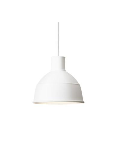 Lámpara Unfold blanca de Muuto