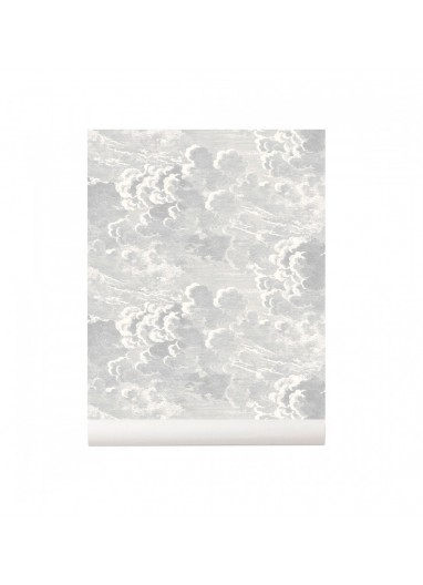 Papel pintado Nuvolette Soft Grey Cole and Son