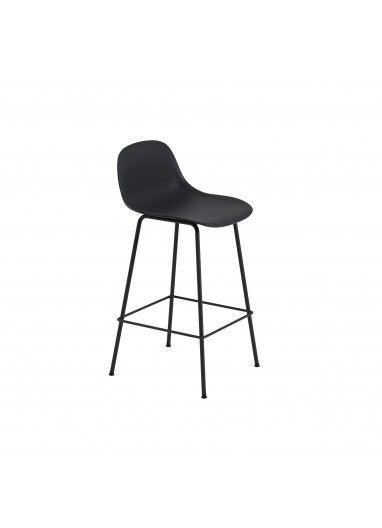 Bar chair with Fiber Muuto backrest