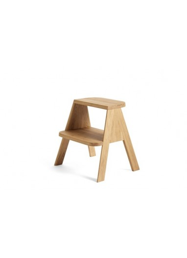 Wooden Bar chair with upholstered fiber Muuto