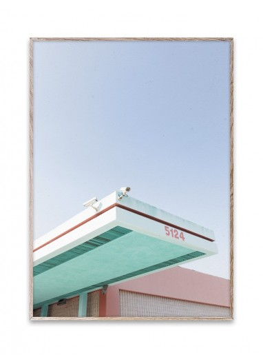 Poster Los Angeles Is Pink 01 by Paper Collective