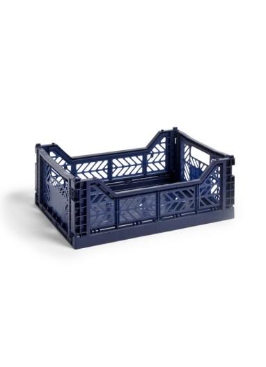 Caja plegable M Navy HAY