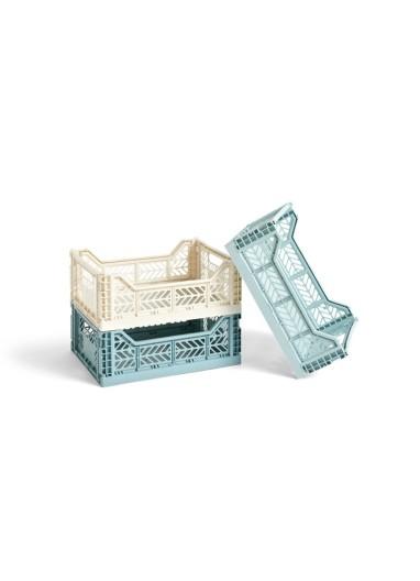 Caja plegable Midi Crema Lima