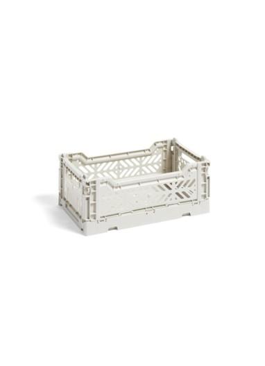 Caja plegable S Light Grey HAY