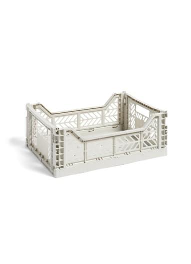 Caja plegable M Gris HAY