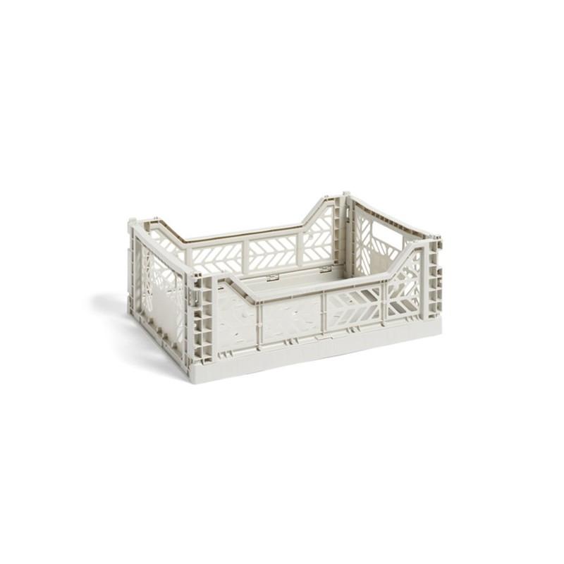 Caja plegable Midi Gris