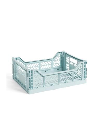 Caja plegable M Arctic blue HAY