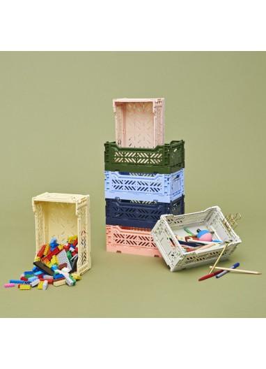 Caja plegable S salmon HAY