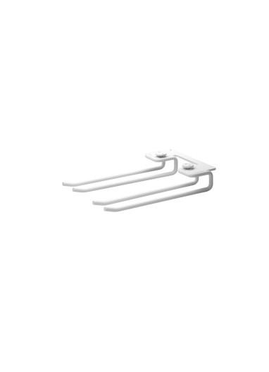 Barras colgar copas vino para Estante Metal White 20 String