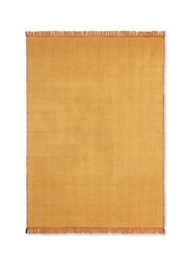 Herringbone Blanket - Mustard Ferm Living