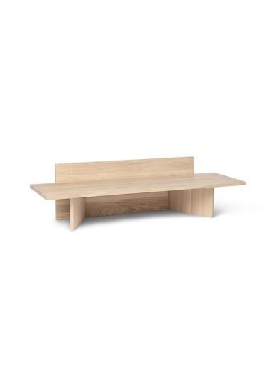 Oblique Bench - Natural Oak Ferm Living