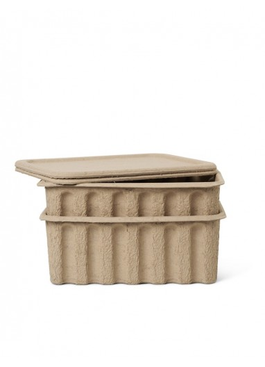 2 Paper Pulp Box large Ferm Living