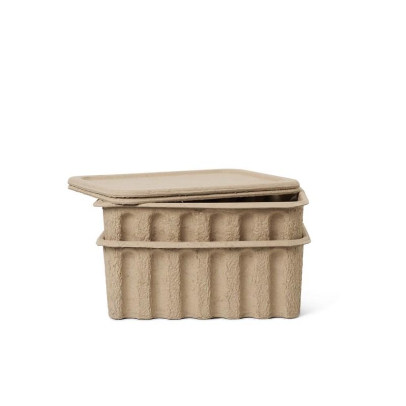 2 Paper Pulp Box large Ferm Living