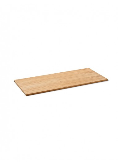 Puntual - estante madera Oak / L Gris Ferm Living