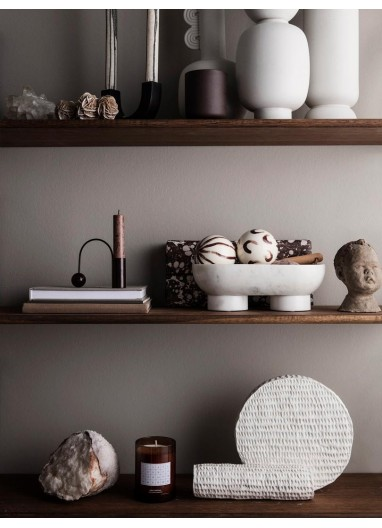 Alza Bowl - White Ferm Living